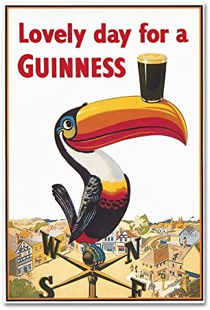 Trademark Fine Art GN0046-C2232GG Lovely Day VIII by Guinness Brewery, 22×32-Inch, 22×32