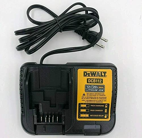 Dewalt Max Li-ion Battery Charger, Tool Battery Chargers (DCB112 12V – 20V Volt Battery Charger)