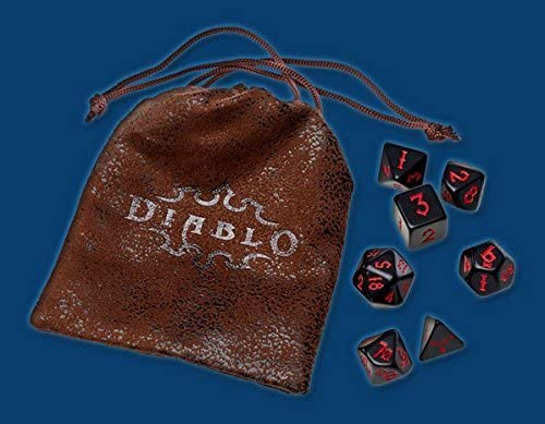 Blizzard Entertainment Blizzcon 2016 Official Diablo 3 Role Playing RPG Dice