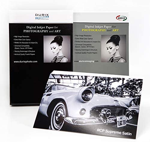 DURICO RCP Supreme Satin 270gsm Digital Inkjet Paper for Photography and Art (4-x-6/100sheets)