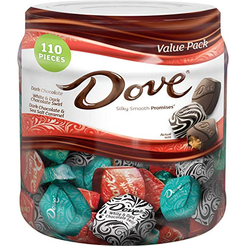 Dove Promises Dark Chocolate Variety Jar (31 oz.) M