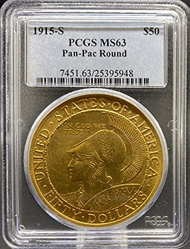 1915 Gold Commemorative Other MS63 PCGS