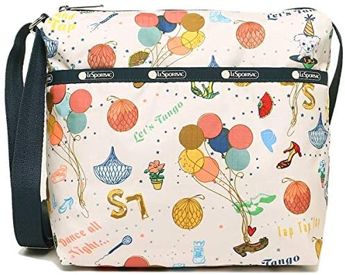 LeSportsac Dance Party Small Cleo Crossbody Handbag, Style 7562/Color F132