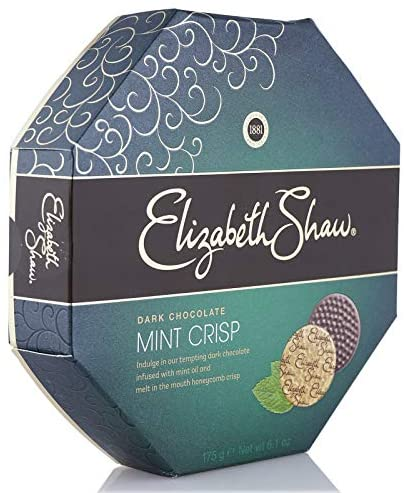 Elizabeth Shaw Dark Mint Crisp Chocolates 175g