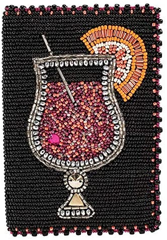 Mary Frances Beaded Passport Holder/Wallet (Relax Time)