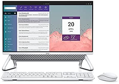 Dell Inspiron 24″ Touch Screen All-in-One Desktop, Intel Core i7-1165G7 up to 4.7GHz, 16GB DDR4, 256GB SSD + 1TB HDD, NVIDIA GeForce MX330, WiFi 6, Webcam, Windows 10 Home, TWE Mouse Pad