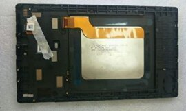7 Inch for Amazon Kindle Fire 2017 7th Gen SR043KL LCD Display Touch Screen Assembly+ Frame Replacement