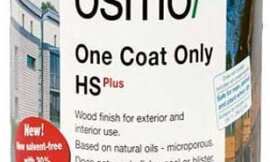 OSMO One Coat Only HS-Plus – Mahogany – .75 Liter