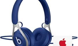 Beats EP Wired Headphones – Blue with AppleCare+ Bundle