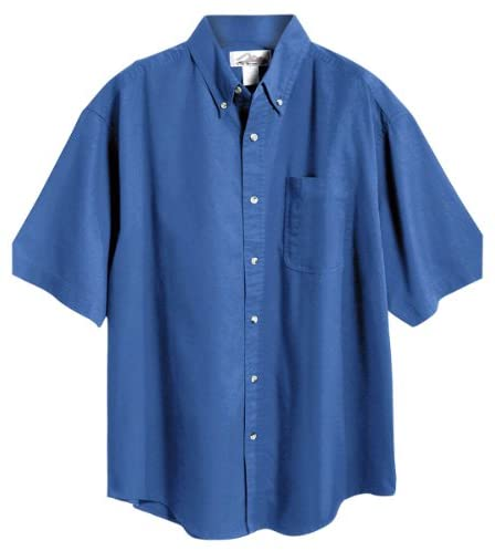 Tri-Mountain Men's 60/40 Mentor Easy Care Twill Woven Shirt (7 Colors, S-6XLT)