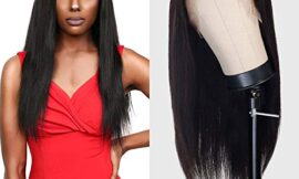 Celebrity 100% Virgin Remi Human Hair Hand Made Full Lace Wig Straight (NATURAL) (24″)