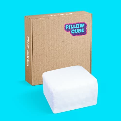 Read more about the article Pillow Cube Classic – 6 inch – Portable, Travel, Bed Pillow for Side Sleeping, Soft & Supportive Cooling Foam Core and Cover – 12″x12″x6″