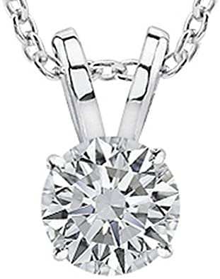 Read more about the article 1/2-2 Carat 14K White Gold GIA Certified Round Cut Diamond Pendant Necklace Luxury Collection (D-E Color, VS1-VS2 Clarity)