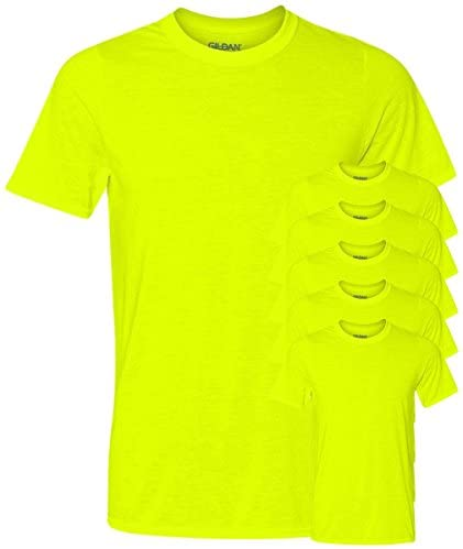 Read more about the article Gildan Men's Core Performance T-Shirt, Safety Green, XL (Pack of 6)
