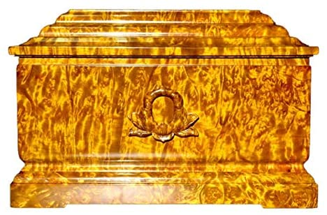 Read more about the article Wooden Urns for Human Ashes Adult, Funeral Urns Urns for Human Ashes, Adult Cremation Urns Remembrance Jar, Soulmates Together Forever (Gold Wire Nanmu), Two Human Size Together Forever Love