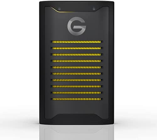 Read more about the article SanDisk Professional 2TB G-Drive ArmorLock SSD – Encrypted NVMe Solid State Drive, 1000MB/s, USB-C, High-Level Security, Ultra Rugged – SDPS41A-002T-GBANB