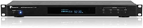 Read more about the article Technical Pro Professional AM/FM Digital Tuner with 60 Stations Storage, Space-Saving & Compact Design, Remote Control, Preset Times ON/Off, & LED Light