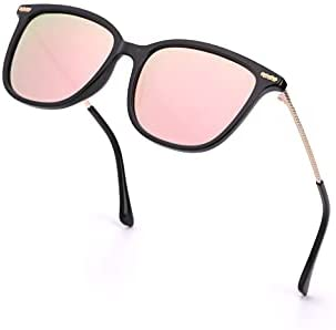 Read more about the article LVIOE Classic Square Polarized Sunglasses for Women Vintage Sun Glasses 100% UV Blocking for Outdoor Activities