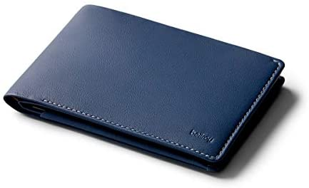 Read more about the article Bellroy Travel Wallet (Slim Leather Passport Wallet, RFID Blocking, Organizes Travel Documents, Cash & Tickets, Holds 4-10 Cards, Includes Micro Pen) – Marine Blue – RFID