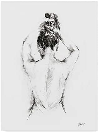 Read more about the article Trademark Fine Art Back Study I by Ethan Harper, 18×24-Inch, 18×24