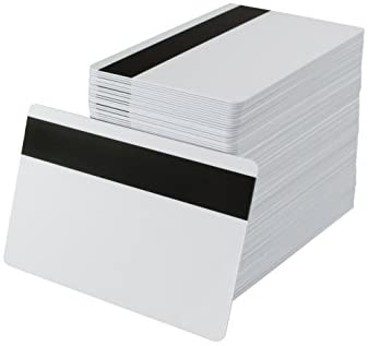 Read more about the article Pack of 500 White CR80 PVC Cards with Hi-Co Magnetic Stripe | 30 Mil