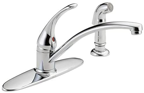 Read more about the article DELTA Foundations Single-Handle Kitchen Sink Faucet, Chrome B4410LF