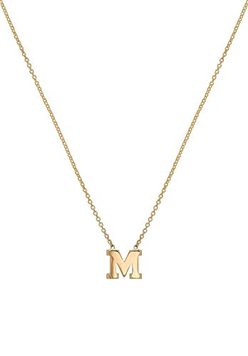 Read more about the article 14k Gold Initial Necklace