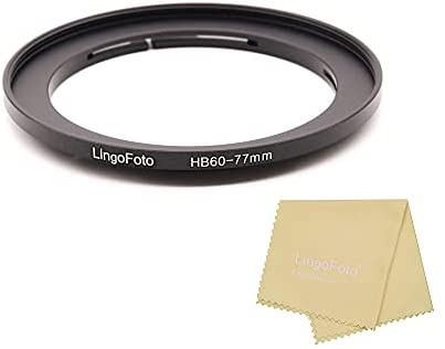 Read more about the article LingoFoto 77mm Filter Adapter Ring for Hasselblad B60 Bay B60-77mm