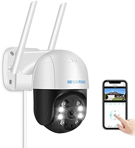 Read more about the article Security Camera Outdoor,Besdertech 1080P WiFi Home Security Camera System Pan Tilt Dome Surveillance Cameras with Waterproof, Night Vision, Motion Detection, 2-Way Audio Cameras for Home Security
