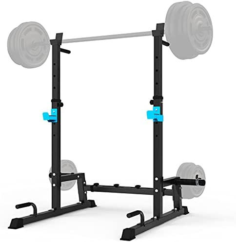 Read more about the article JX FITNESS Adjustable Squat Rack Barbell Rack, Bench Press Rack Push up Multi-Function Weight Lifting Gym/Home Gym Portable Dumbbell Racks Stands