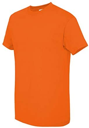 Read more about the article Gildan Men's Heavy Taped Neck Comfort Jersey T-Shirt