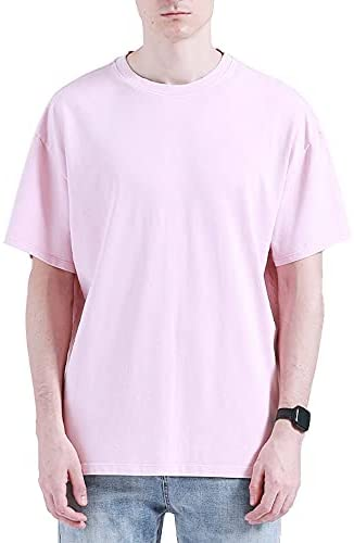 Read more about the article LINFORESTS Men's Heavyweight 100% Cotton Short Sleeve Crew Neck T-Shirt | Relaxed Fit Casual Workout Tees
