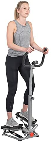 Read more about the article Sunny Health & Fitness Stair Stepper Machine with Handlebar