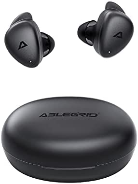 Read more about the article Wireless Earbuds, ABLEGRID Viva Lite Gaming Earbuds Low-Latency in-Ear Earphones, Bluetooth 5.1 Headphones Noise Cancelling Mics, Deep Bass Touch Control USB-C IPX6 Waterproof 32Hrs for Sport (Black)