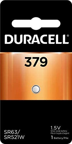 Read more about the article Duracell – 379 Silver Oxide Button Battery – long lasting battery – 1 count