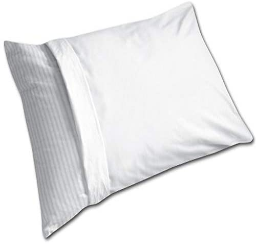 Read more about the article Fresh Ideas 100-Percent Cotton Teflon Coated Stain Resistant Pillow Protector, Queen