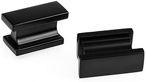 Read more about the article Ilyapa Flat Black Kitchen Cabinet Knobs – Rectangle Drawer Handles – 10 Pack of Kitchen Cabinet Hardware