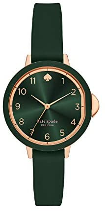 Read more about the article Kate Spade New York Women's Park Row Stainless Steel and Silicone Quartz Watch