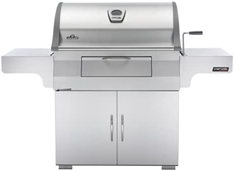 Read more about the article Napoleon PRO605CSS Professional Charcoal Grill, Stainless Steel