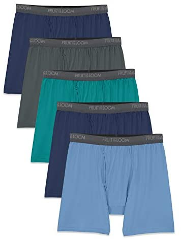 Read more about the article Fruit of the Loom Men's Lightweight Micro-Stretch Boxer Briefs