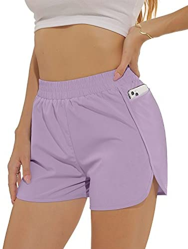 """Read more about the article OFEEFAN 2.5"""" Women's Athletic Wokout Running Shorts with Pocket Mesh Liner Quick Dry"""