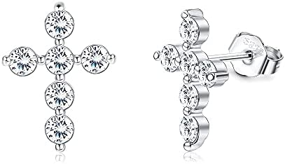 Read more about the article Hayoso 925 Sterling Silver Climber Earrings 14K Gold Plated Crawler Earrings Cubic Zirconia Constellation Stud Earrings for Women Teen Girls