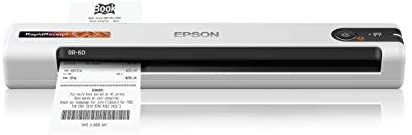 Read more about the article Epson RapidReceipt RR-60 Mobile Receipt and Color Document Scanner with Complimentary Receipt Management and PDF Software for PC and Mac