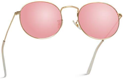 Read more about the article WearMe Pro – Polarized Round Retro Tinted Lens Metal Frame Sunglasses