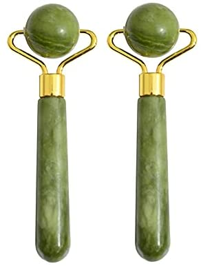 Read more about the article Leosense Small Jade Rollers Set for Eyes Face – Facial Massage Tool for Anti Aging Wrinkles and Skin Rejuvenate -100% Natural Jade Crystal Stone for Body Face Eyes (2 Mini Jade Facial Rollers)