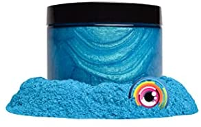 """Read more about the article Eye Candy Mica Powder Pigment """"Okinawa Blue"""" (50g) Multipurpose DIY Arts and Crafts Additive   Natural Bath Bombs, Resin, Paint, Epoxy, Soap, Nail Polish, Lip Balm"""