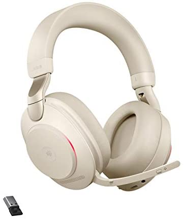 Read more about the article Jabra Evolve2 85 – USB-A MS Teams Stereo – Beige Wireless Headset/Music Headphones