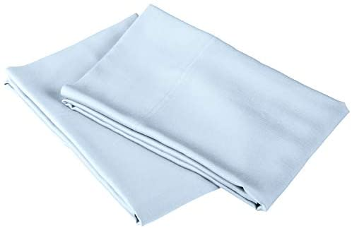 Read more about the article SUPERIOR Rayon from Bamboo 300-Thread Count Solid Pillowcases, Standard, Light Blue, 2-Piece Set