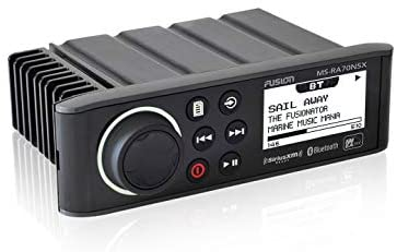 Read more about the article Fusion MS-RA70NSX NMEA 2000 SiriusXM-Ready Marine Entertainment System