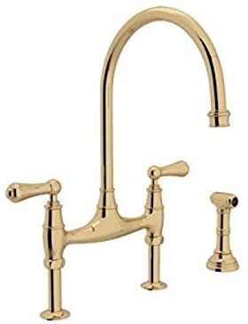 Read more about the article ROHL U.4719L-ULB-2 KITCHEN FAUCETS, 0-in L x 1.8-in W x 16.9-in H, Unlacquered Brass